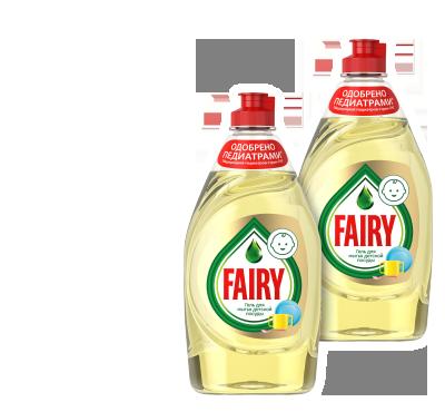 Економія на засіб для миття дитячого посуду 450 мл ТМ Fairy