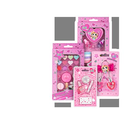 Honey Bunny Miss Выбранный ассортимент декоративной косметики для детей