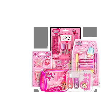 Honey Bunny Miss Выборочный2 ассортимент декоративной косметики для детей
